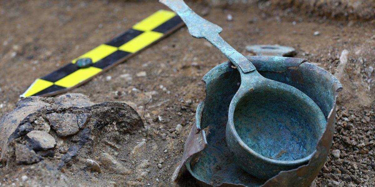 Богатая могила древней Моравии