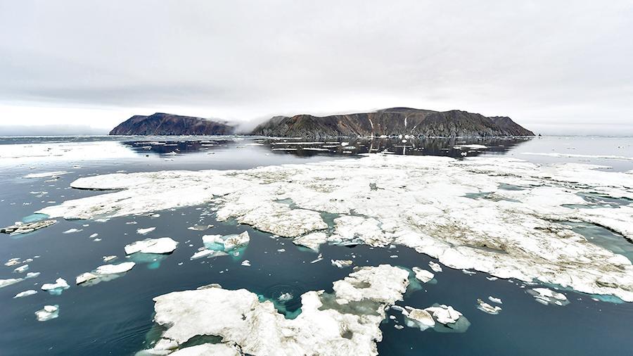 У России появилось пять новых островов