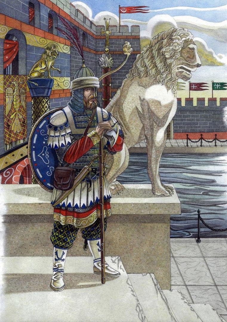 Георгий Маниак - полководец-простолюдин, чуть не ставший императором