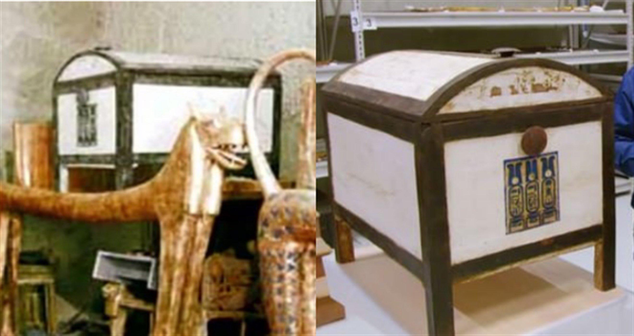 Сундук жены Тутанхамона