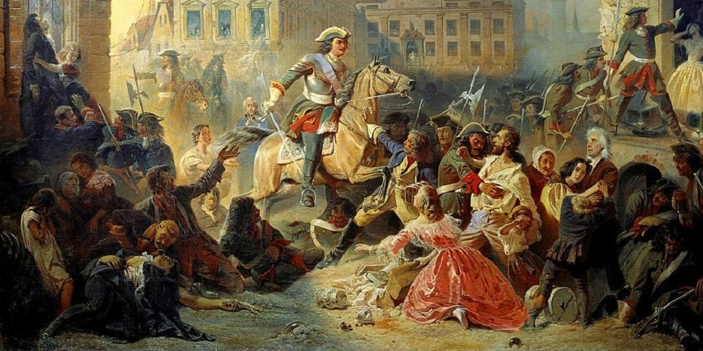 Нарвский «маскарад» - реванш Петра Великого