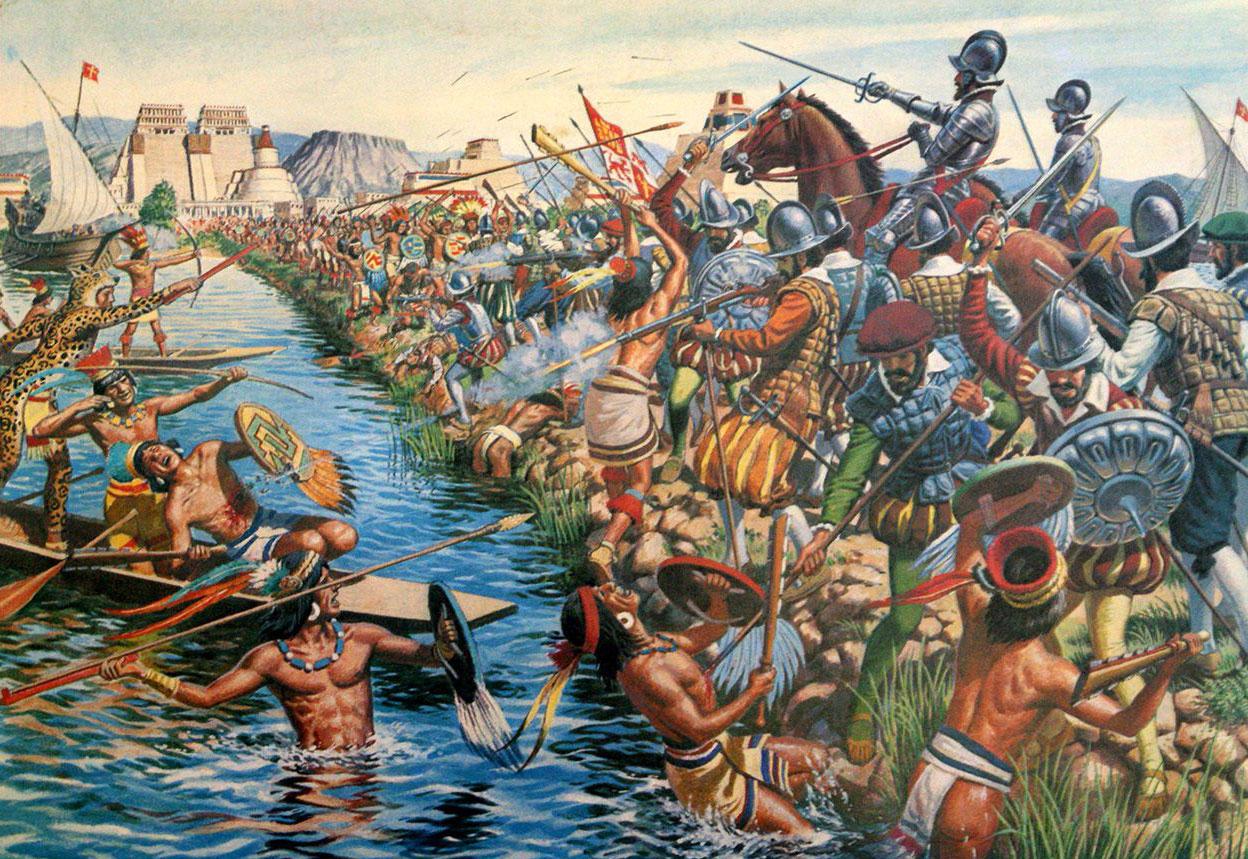 Последняя ночь Кортеса. Победа ацтеков изменила ход мировой истории