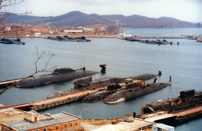 Бухта Павловского - токсичная база подводных лодок