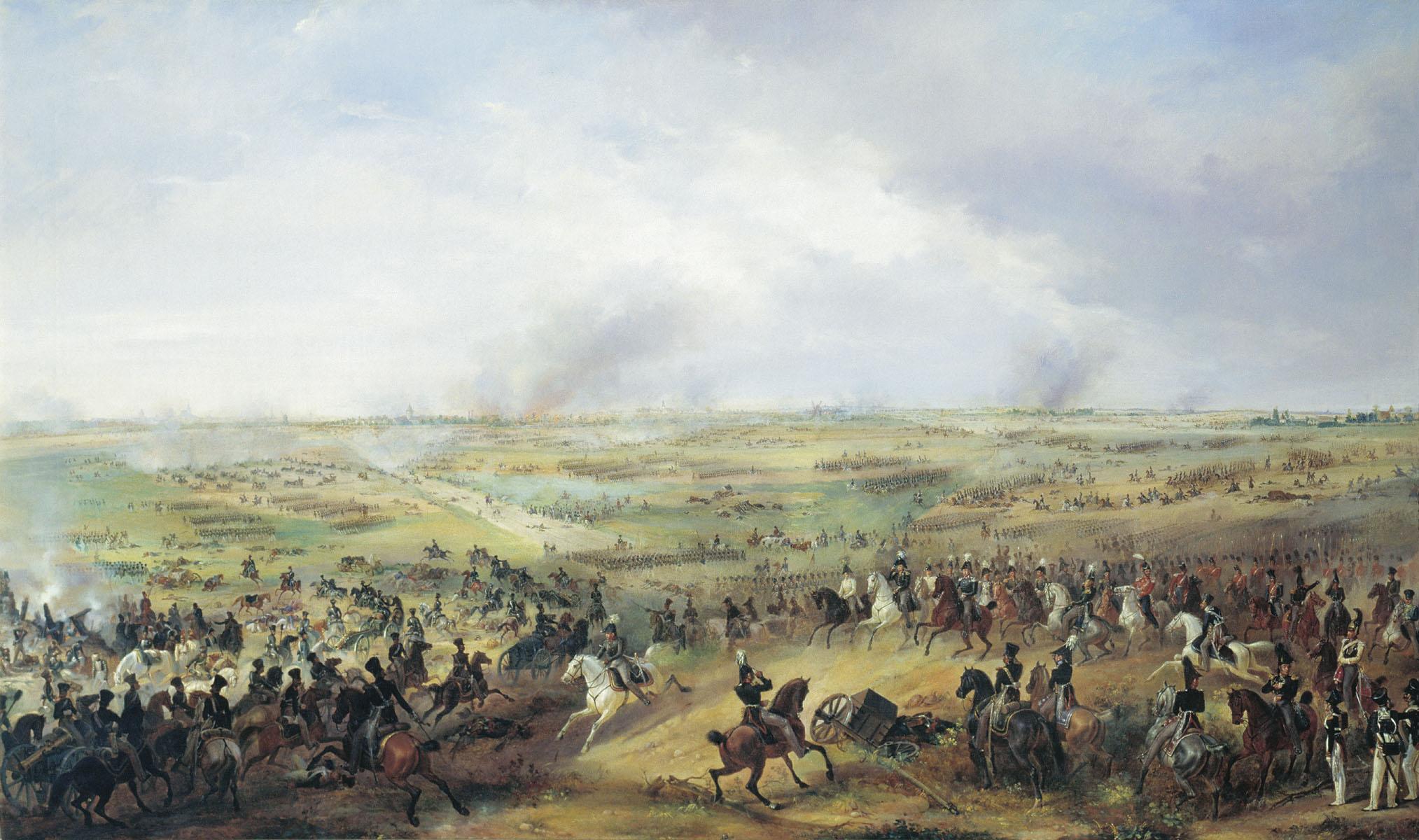Поражение Наполеона в «Битве народов»