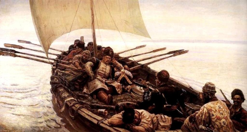 Каспийский поход Степана Разина. Самая крупная морская победа России XVII века — дело рук казака-бунтовщика?