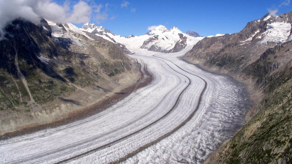 Как ледники ворочают горы