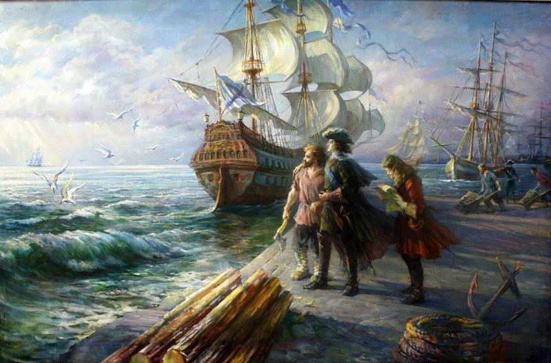 Как Петр I пиратов искал