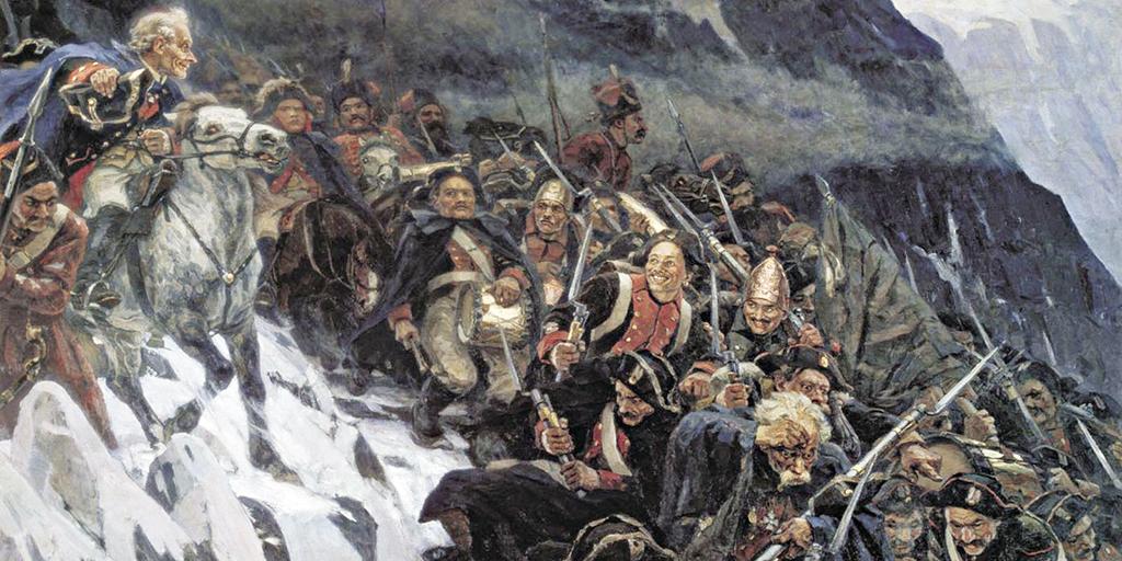 Русские воины штурмуют Альпы. Незабываемый поход Суворова