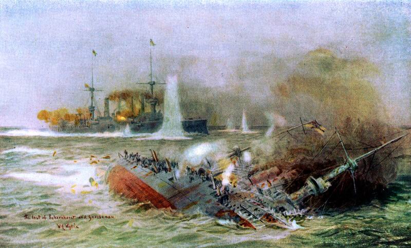 Западня у Фолклендов. Русские помогли британскому флоту поймать в ловушку немецкую эскадру...