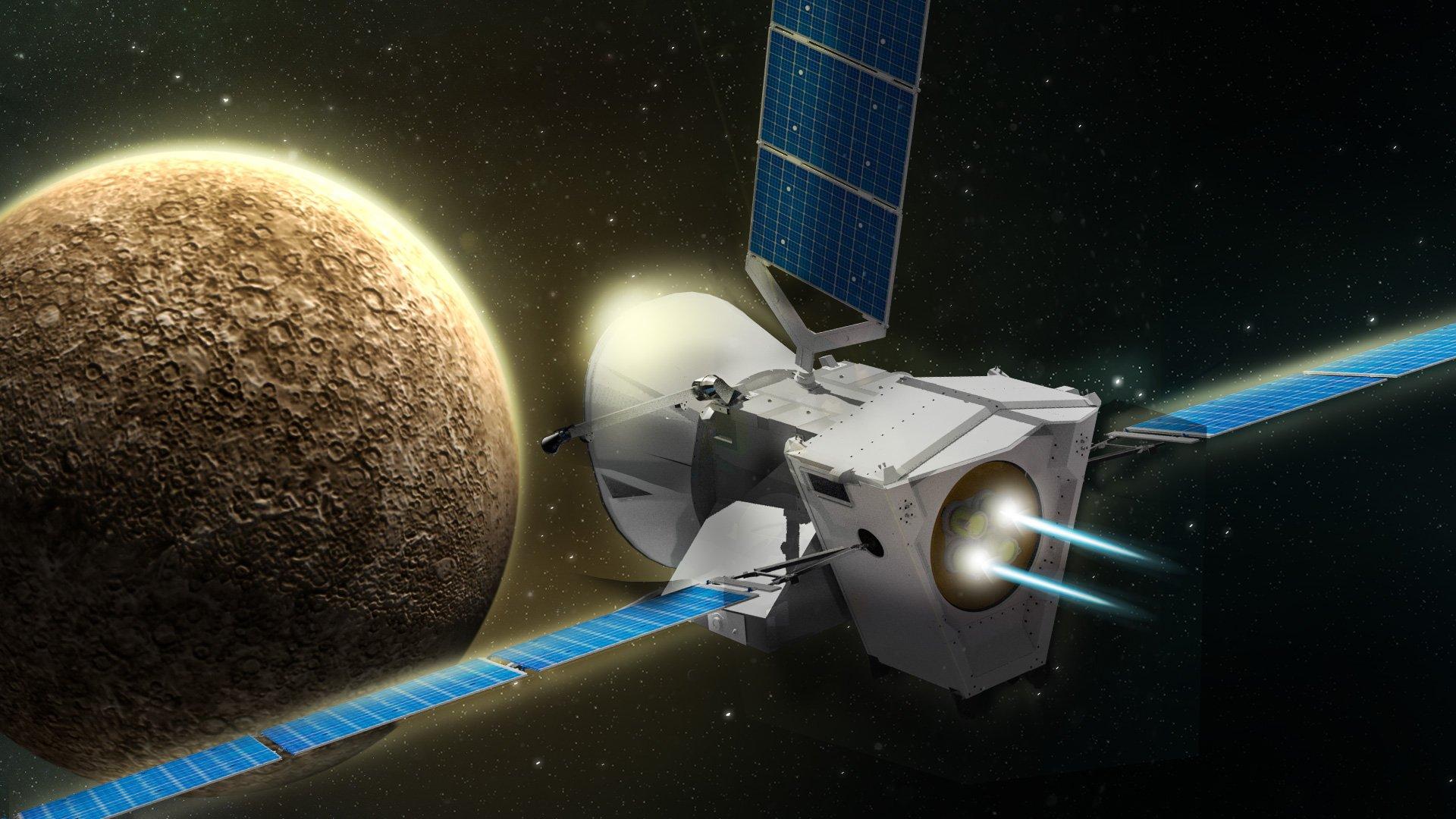 Космическая миссия «BepiColombo» раскроет загадки Меркурия