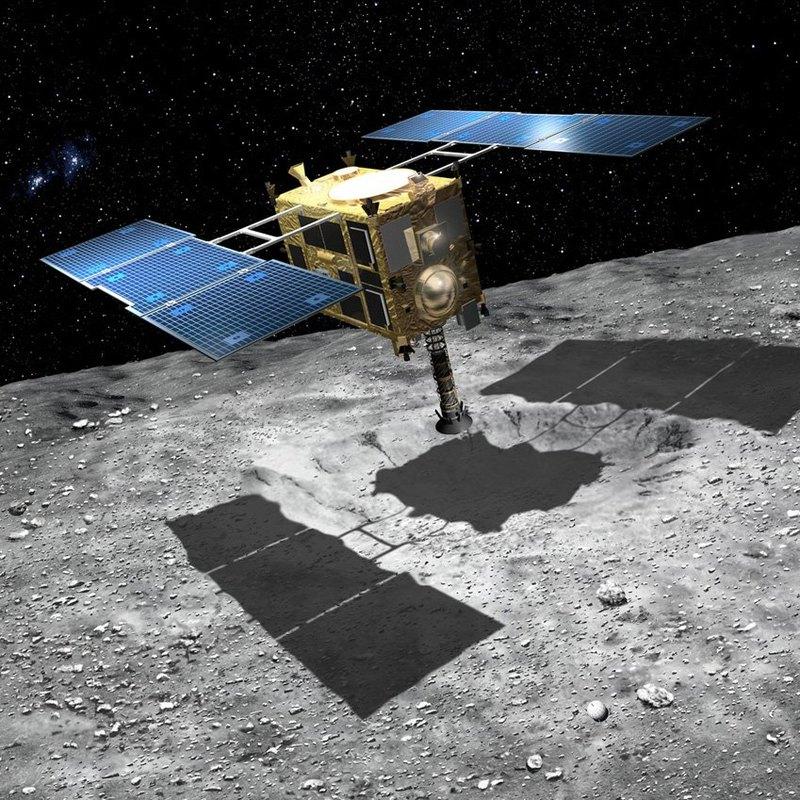 «Хаябуса-2» - уникальная посадка на астероид