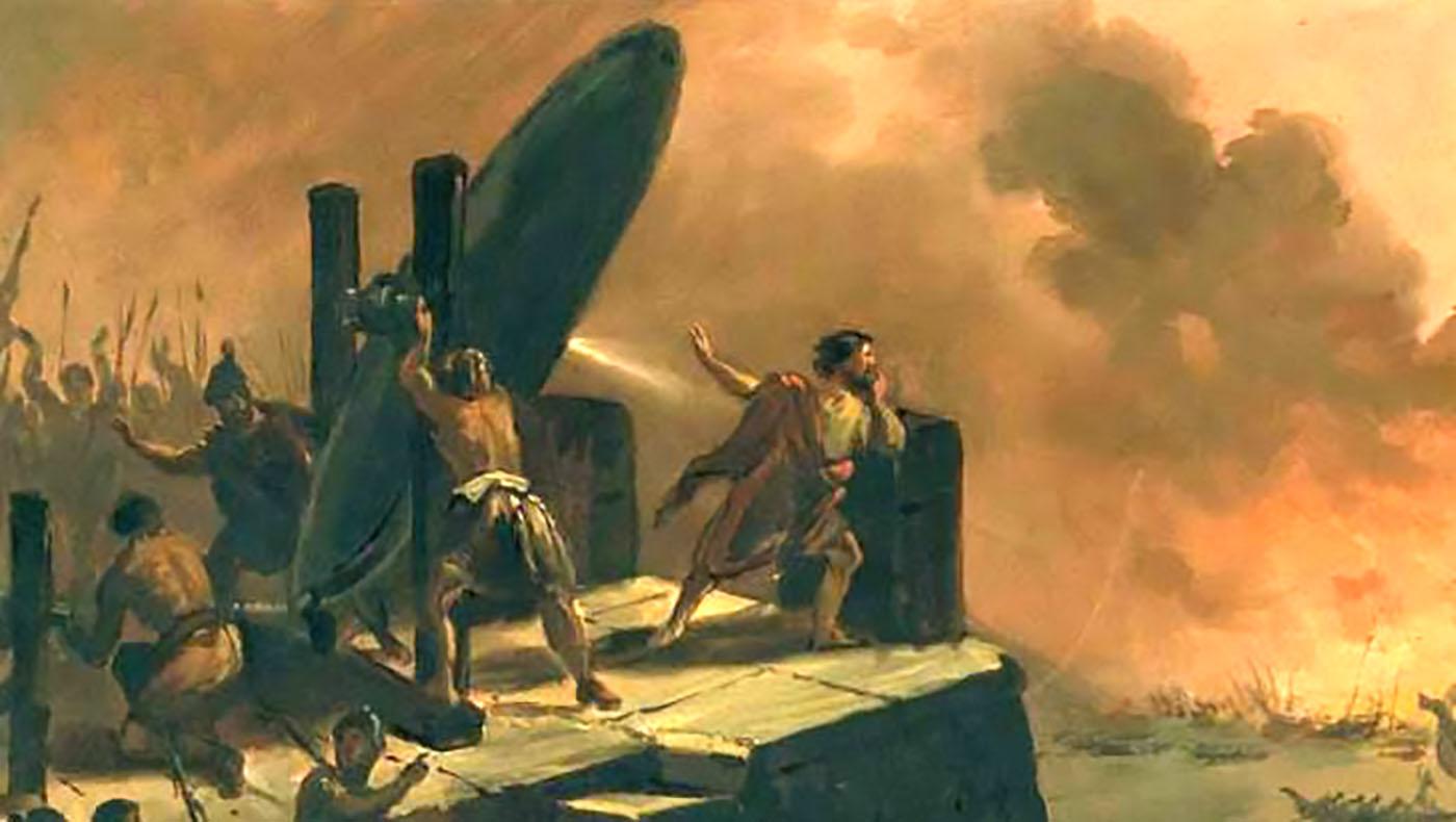 Военные хитрости античности