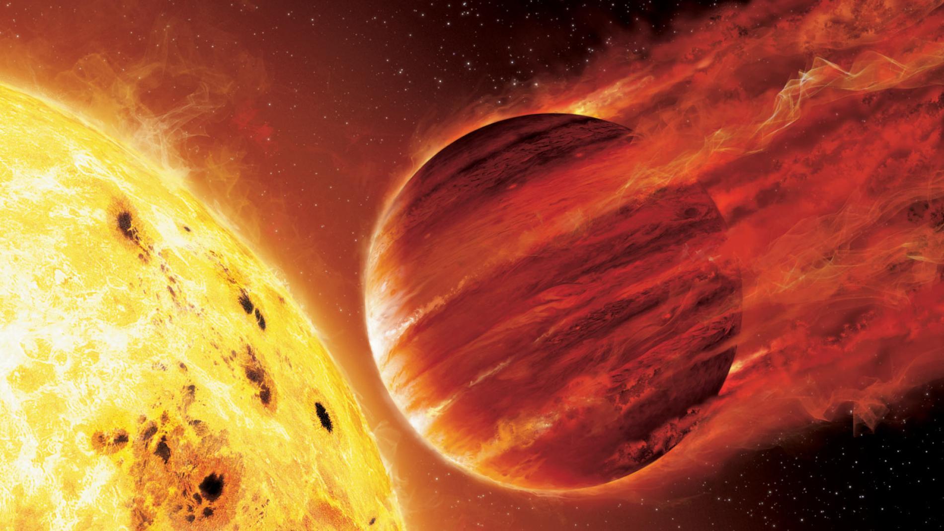 Экзопланета Kelt-9b - ну и погодка!