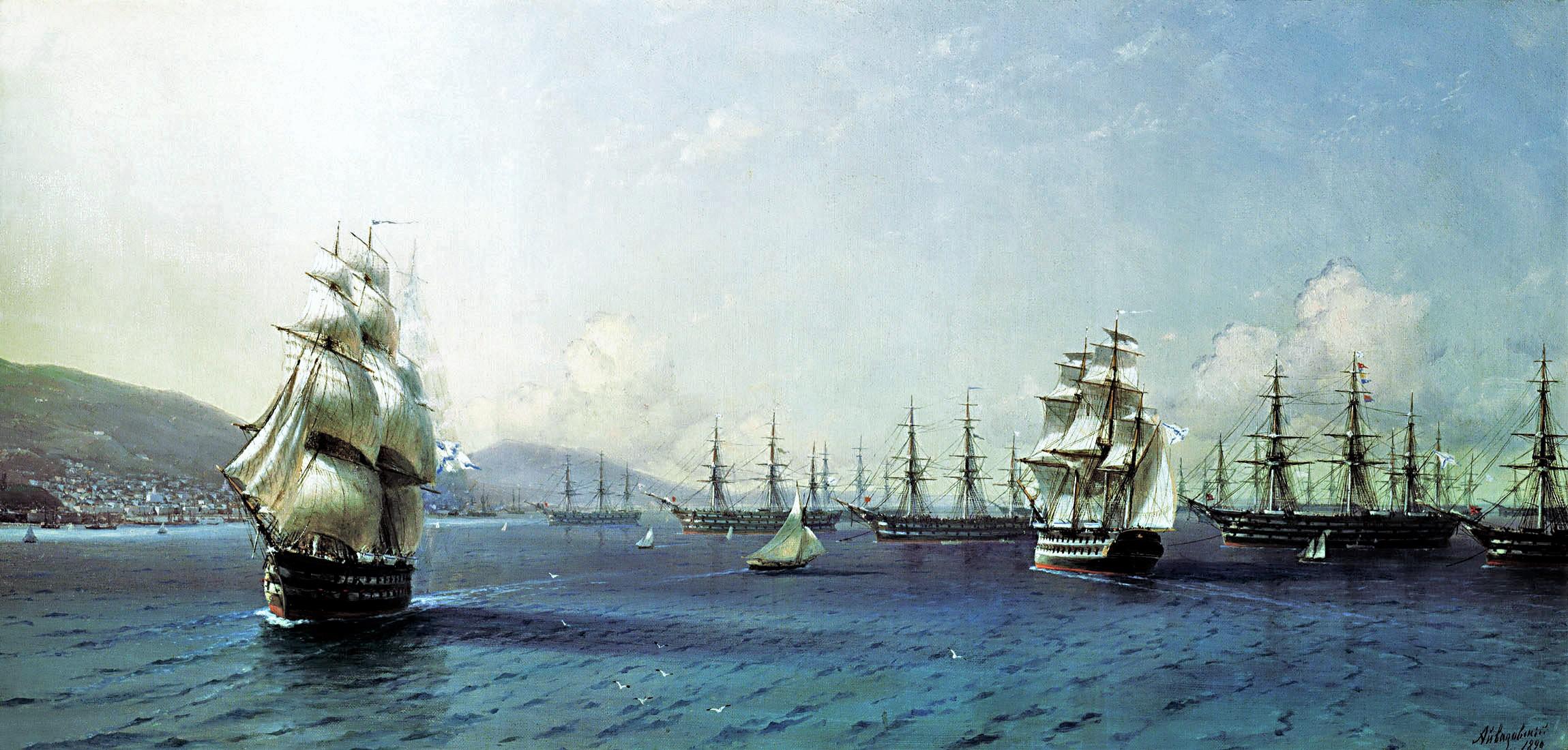 Как появился Черноморский флот
