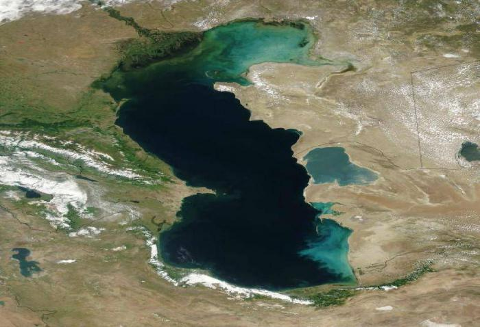Каспийское море: как меняется водоем