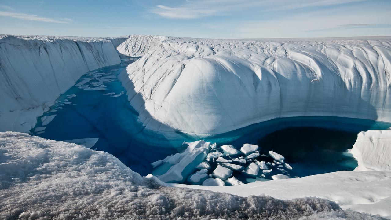 Тающие ледники Гренландии