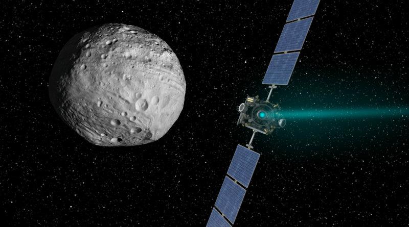 Автоматическая межпланетная станция Dawn завершила свою миссию
