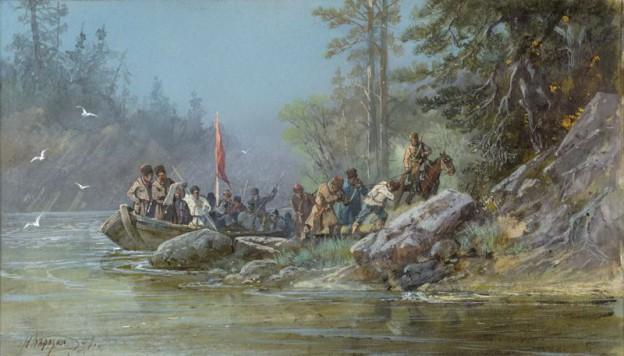 Владимир Атласов - первый землепроходец на Камчатке