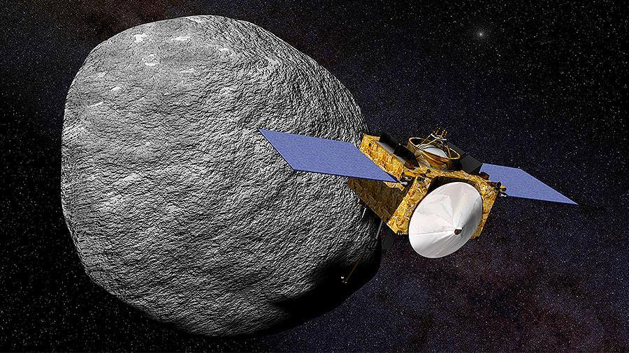 OSIRIS-REx готовится к посадке на астероид Бенну