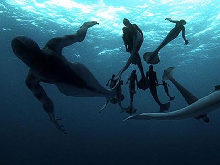 Очень страшные подводные гуманоиды