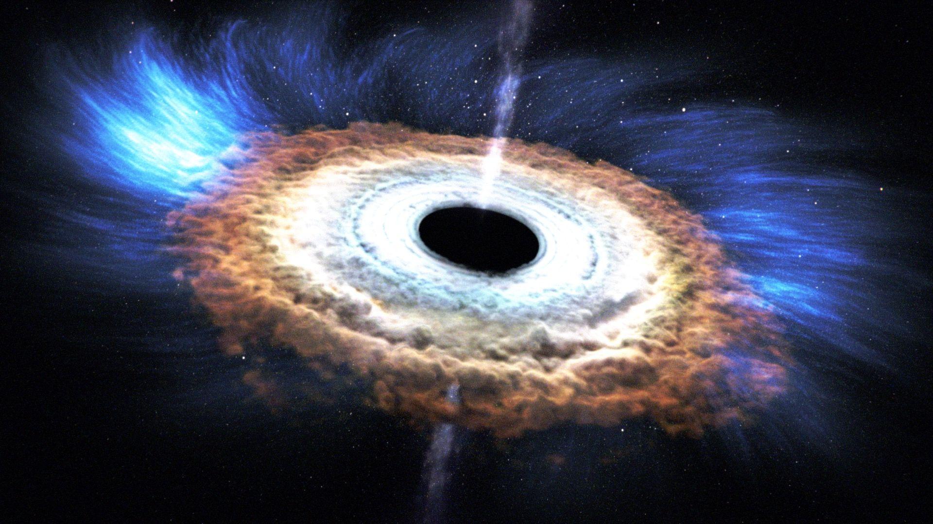 Сверхмассивные черные дыры