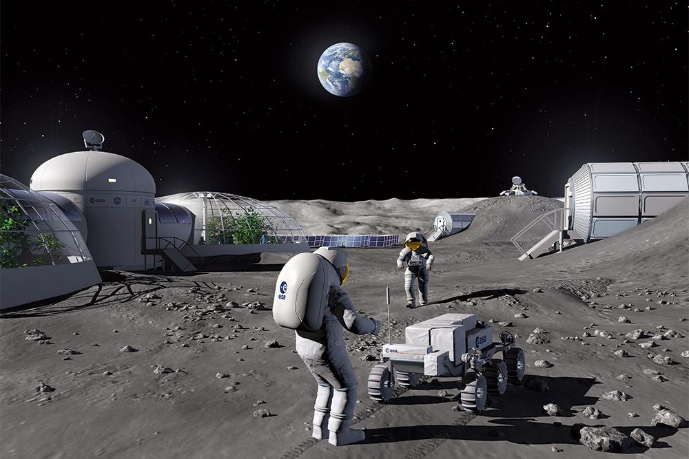 Обитаемая Луна: исследования, технологии, инновации