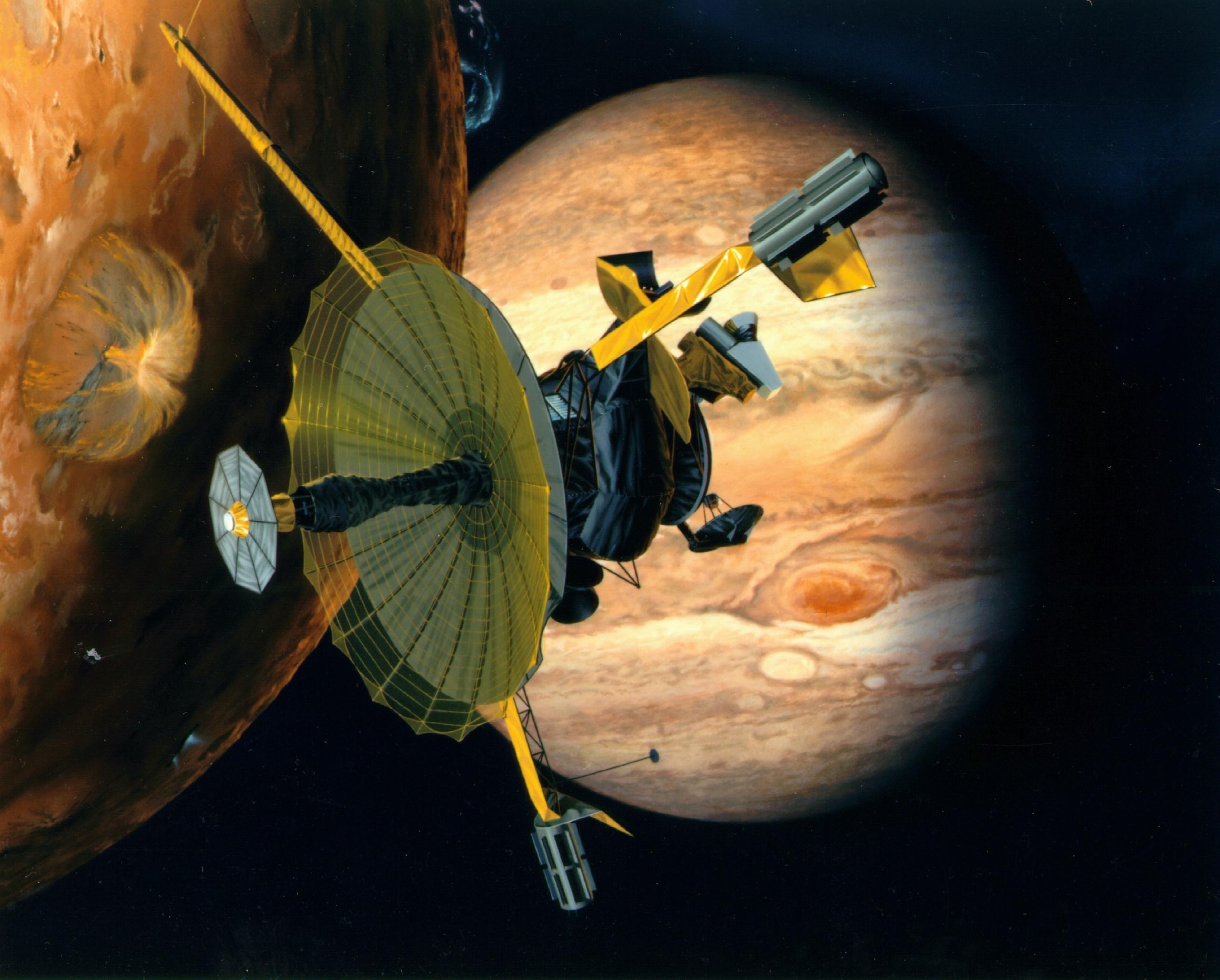 Galileo: раскрывая тайны системы Юпитера