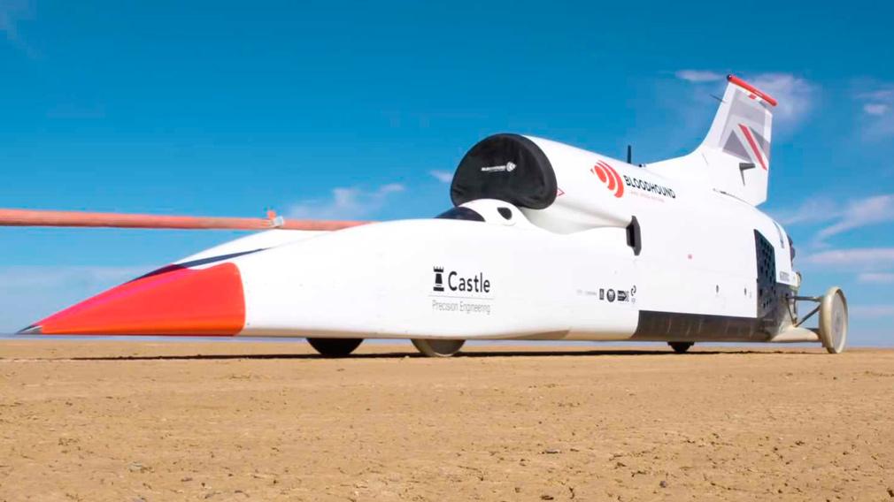 BLoodhound LSR - самый быстрый на земле