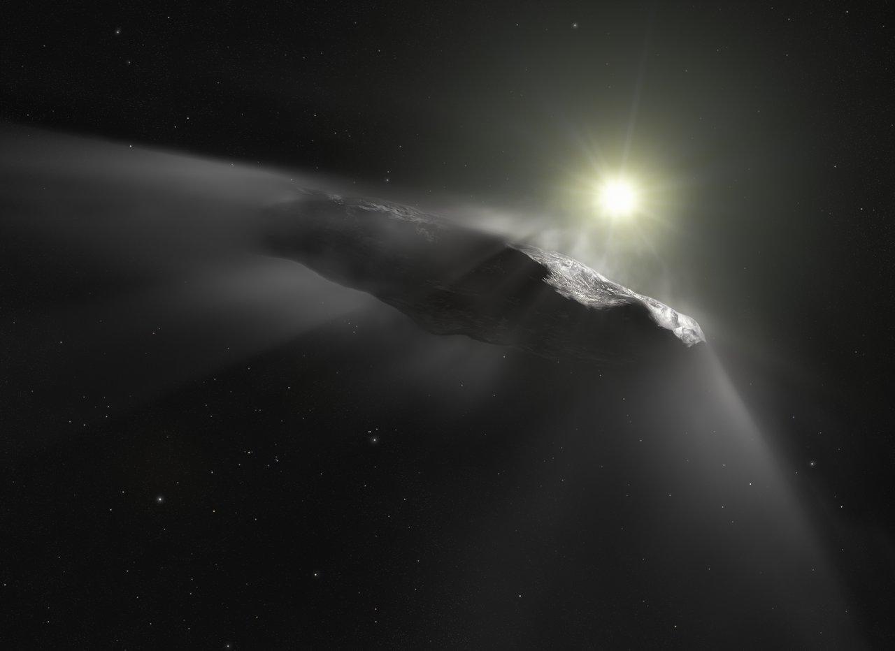 Оумуамуа: комета, астероид или межзвездный корабль?