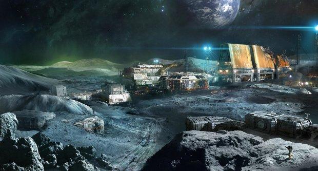 Сложности выбора места для поселения на Луне