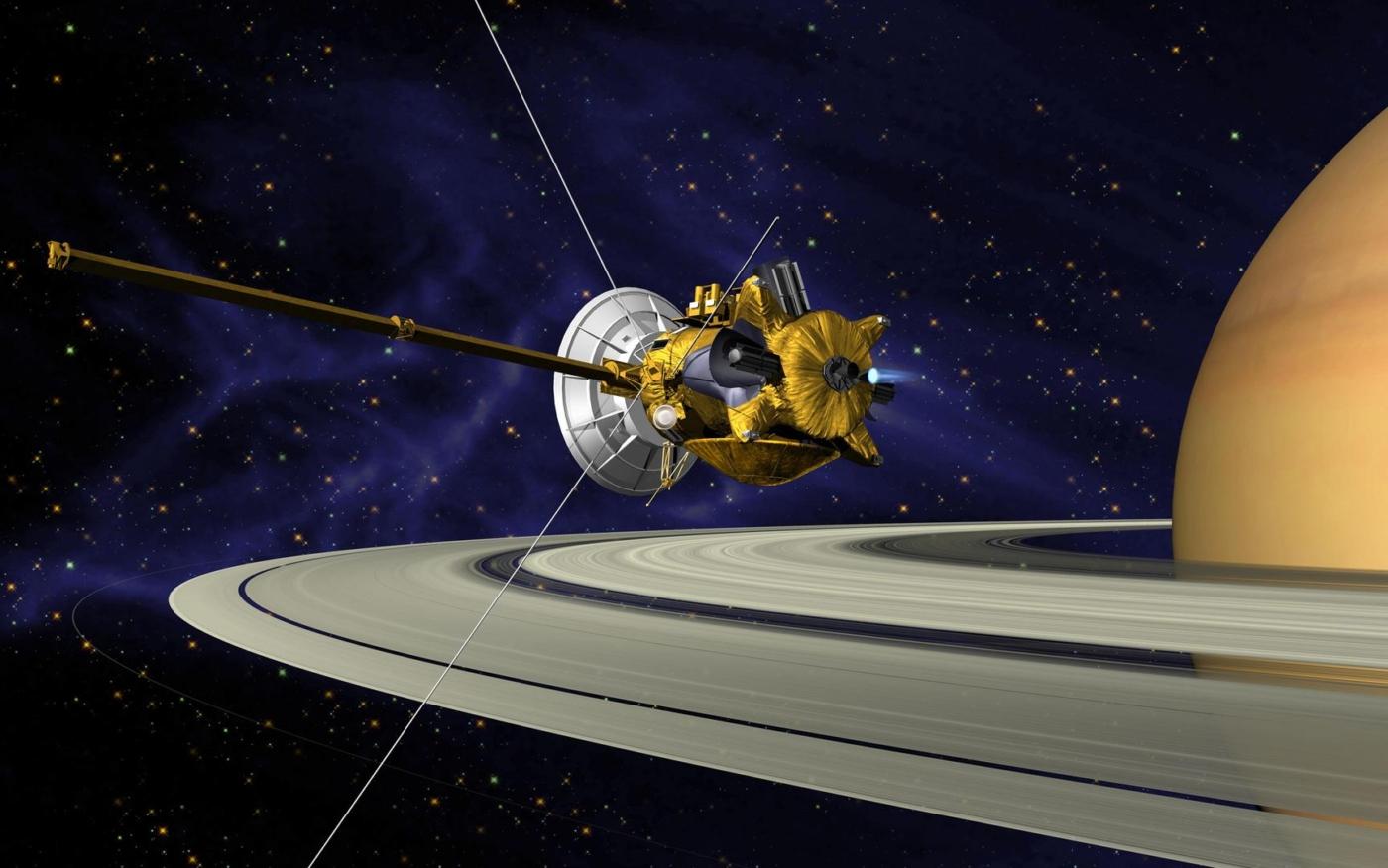 Cassini: история миссии к Сатурну и ее самые впечатляющие результаты