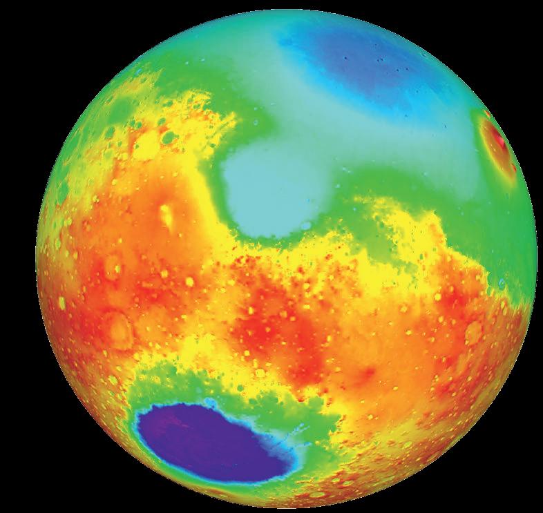 Что деформировало Марс?