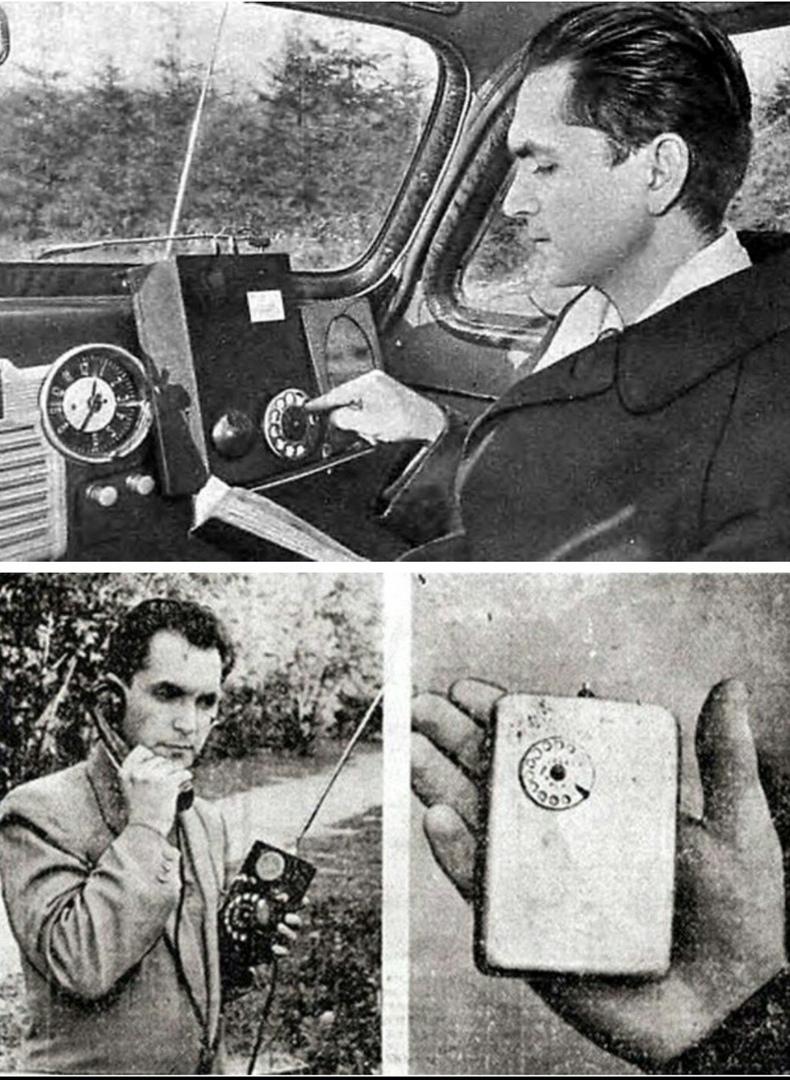 Мобильный телефон родом из 1950-х