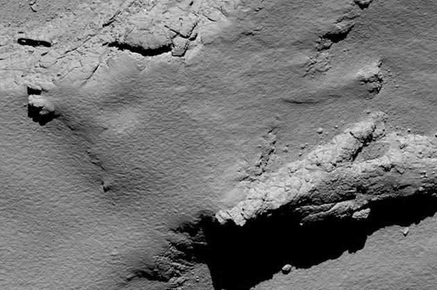 Последний снимок зонда Rosetta