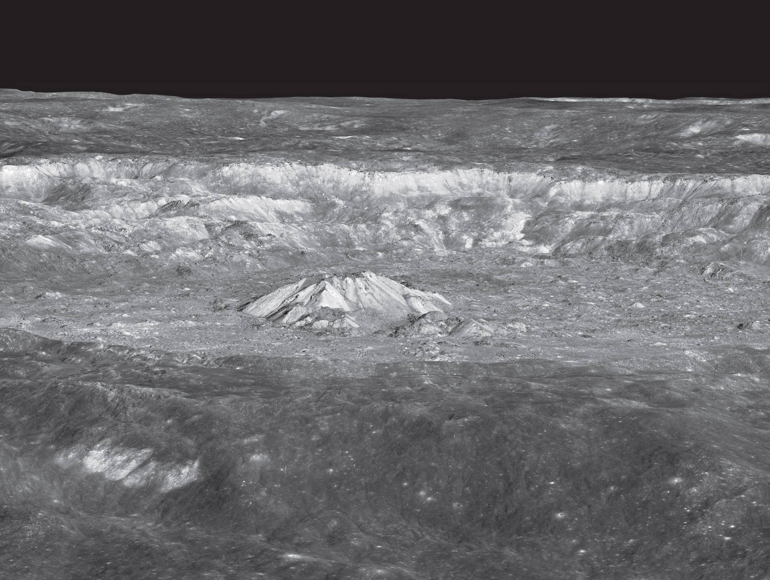 Великолепный кратер Тихо