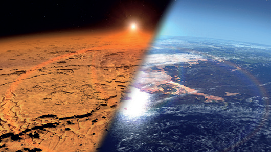 MAVEN раскрыл секрет потерянной атмосферы Марса