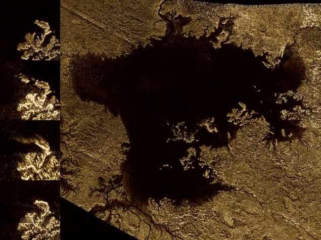 Эволюция «таинственного острова» Титана
