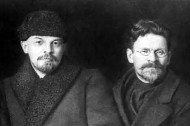 Ленин и Троцкий - великое противостояние
