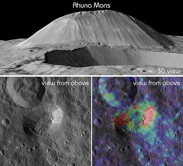 Гора Ахуна — самый близкий криовулкан
