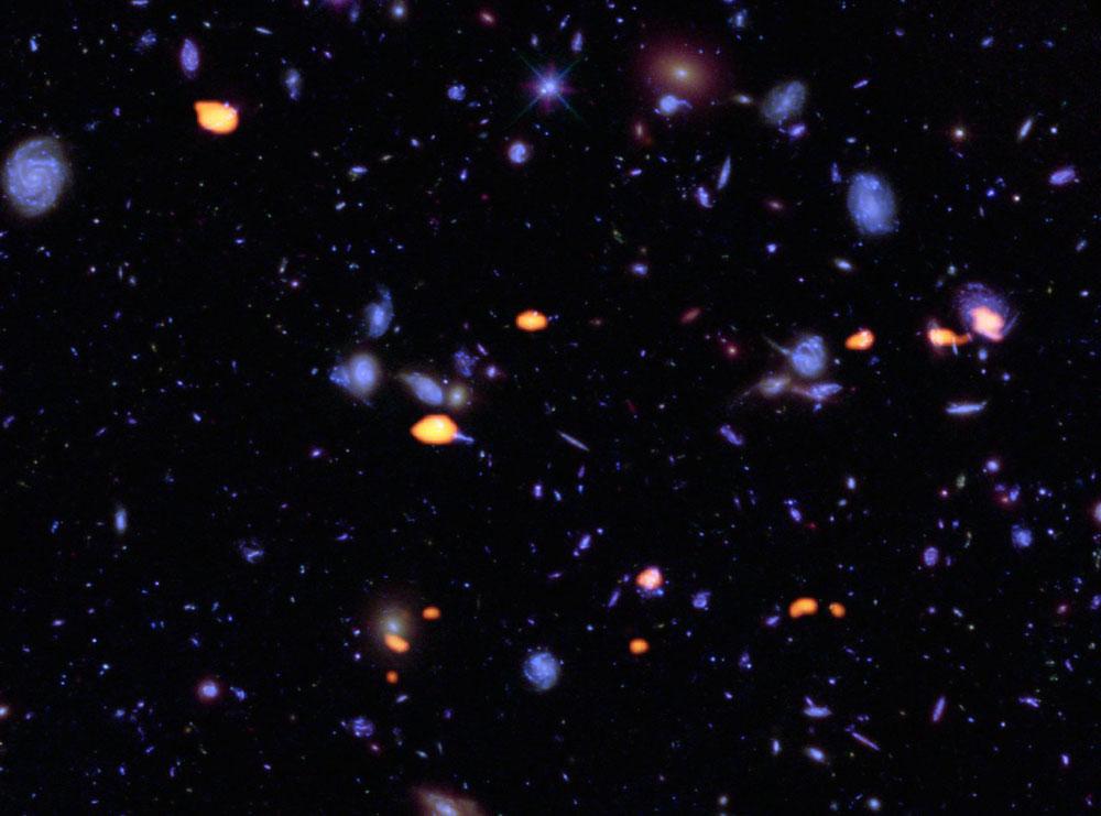 ALMA исследует сверхглубокое поле
