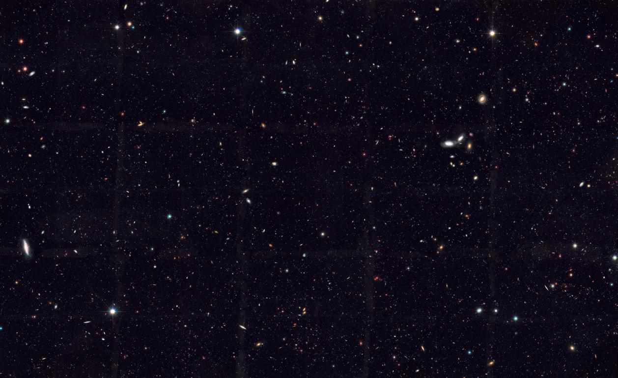 Вселенная содержит в 10 раз больше галактик