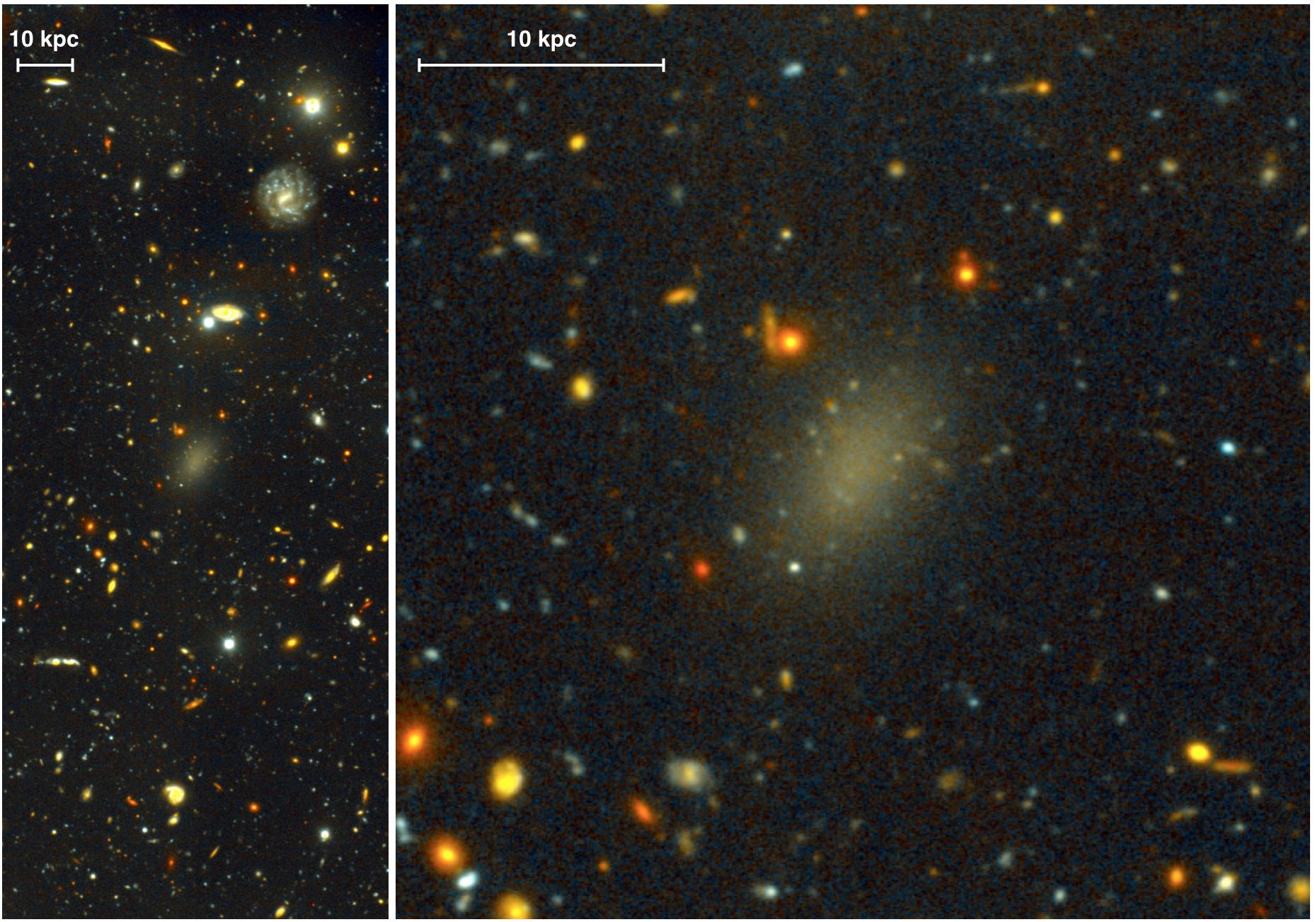 Галактика из темной материи