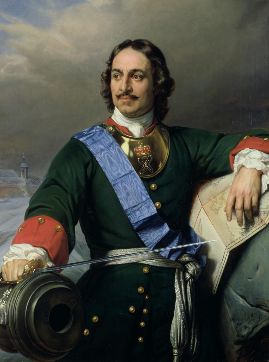 Противоречивая личность Петра Великого