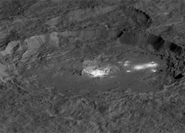 На Церере найдены карбонаты