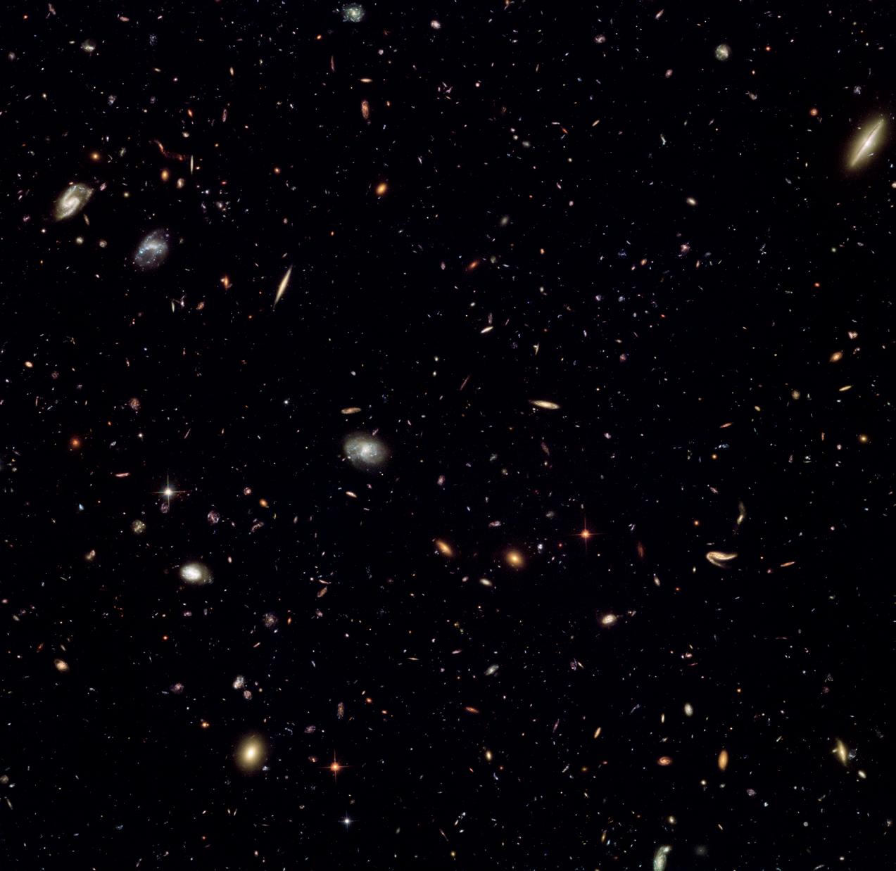 Далекие галактики «параллельного поля»