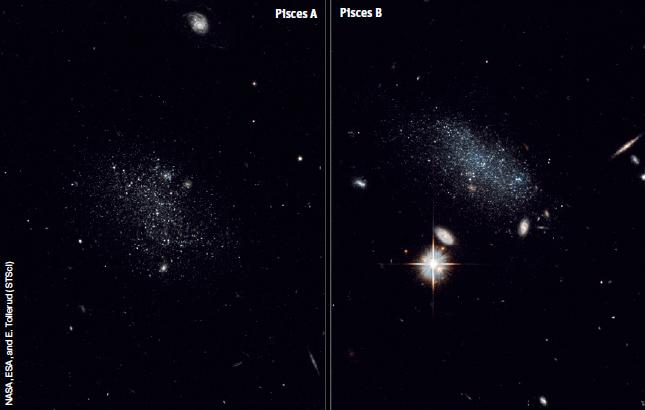 Галактики, вышедшие из пустоты