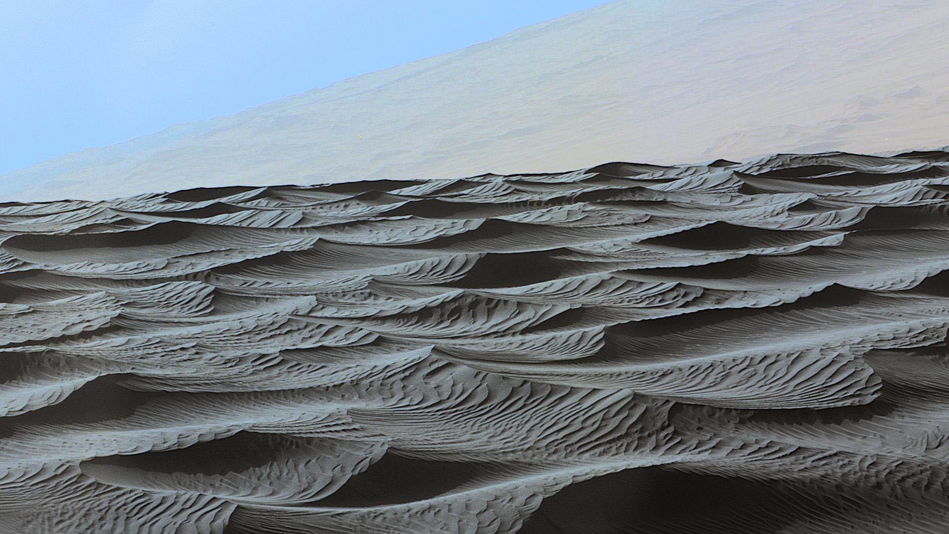 На Марсе открыт новый тип песчаных дюн