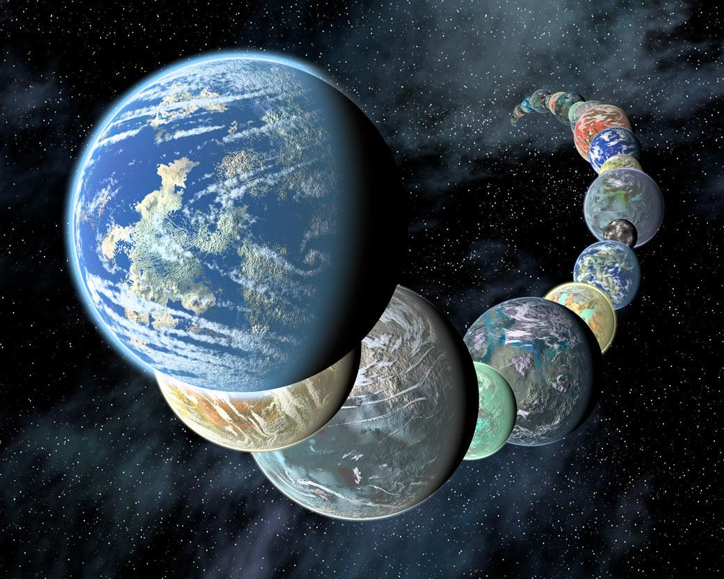 Поиски скалистых экзопланет