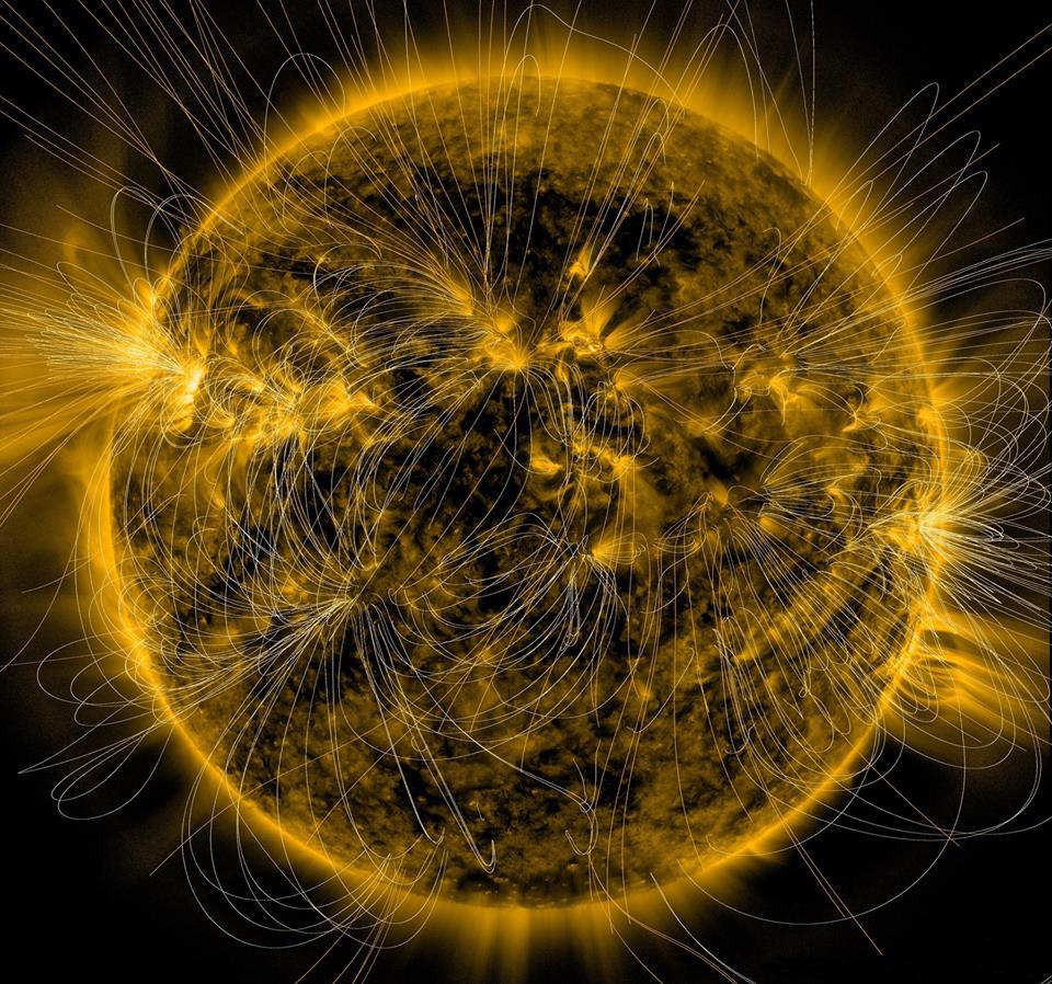 Магнитная «корона» Солнца