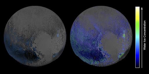 Водяной лед — главный компонент Плутона